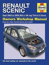 Haynes Owners + Workshop Car Manual Renault Scenic Petrol + Diesel 03-06 H4297