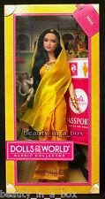 "India Barbie Doll Dolls of the World Indian Hindu Designer Bollywood "" EXC BOX"