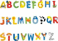 1 x Gorgeous Alphabet ANIMAL Wooden Letter  6cm x 7cm $2.20 FREE POST