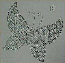Vintage Quilt Pattern Mail Order Butterfly Block Design Quilter Sewing 1930s