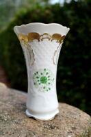 wunderschöne Vase Lindner zarte Ranke Neu Porzellan florales Dekor