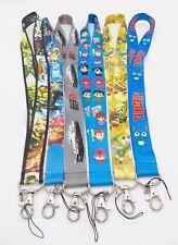 6 Assorted Initial D One Piece Yu Yu Hakusho Zelda Key Chain Lanyard Set #5
