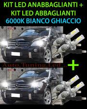 KIT LED LAMPADE ABBAGLIANTI & ANABBAGLIANTI PER MERCEDES ML W164 2005-2011 -.