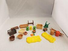 Playmobil Bundle Of Accessories Farm Pirates Crates Barrels 21 pieces
