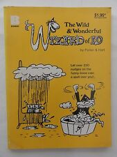 WIZARD OF ID THE WILD AND WONDERFUL 1981 PARKER AND HART GOOD CONDITION