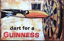 Guinness Tin Sign Dart 12 X 8 Ireland Board Bar Pub Beer Dublin Stout Wall Art
