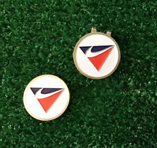 NIKE Golf Ball Marker's With Magnet 🧲  Hat Clip. 3-pcs  New See Photos