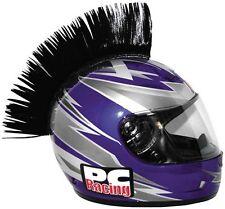 PC Racing Helmet Mohawk Black Shoei Arai HJC Shark Skate BMX
