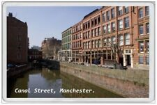MANCHESTER - JUMBO FRIDGE MAGNET - CANAL STREET GAY VILLAGE ENGLAND