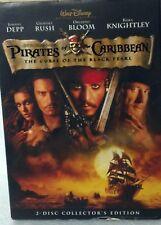 Disney DVD PIRATES OF THE CARIBBEAN-Black Pearl Used. Depp/Rush/Bloom/Knightley