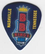 Collectible BB KING BLUES CLUB GUITAR PICK NASHVILLE TENNESSEE CONCERT BAR MUSIC