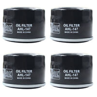 4Pcs Oil Filter for Kymco UXV 700I Xciting 500 Yamaha FX10M PZ50GT XP500 TMAX500