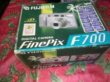 Fujifilm FinePix F700 6.2 Megapixel Compact Camera - Silver Bundle WORK TESTED