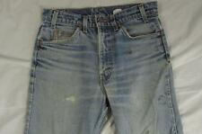 Vtg Levi 517 USA Made Boot Cut Faded Denim Jeans Tag 32x36 Measure 31x34.5