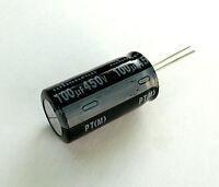100uF 450V 105C Radial Electrolytic Capacitor Hi-Fi Audio Valve Amplifier