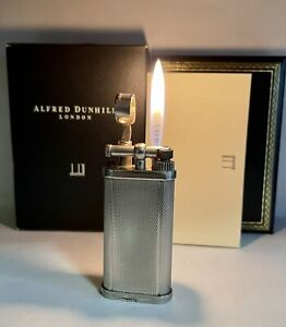 Vintage lighter Dunhill Unique Silver Plated 🔥Very 🔥Very 🔥Good