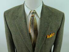 Jos.A.Bank 100% Camel Hair Brown Windowpane Blazer Jacket Sport Coat 42 R EUC