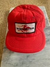 TRUCKER HAT VINTAGE  BASEBALL CAP WINCHESTER HAT PATCH