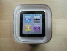 Apple 6th gen. ipod nano silver 8GB - new in factory sealed container - read -