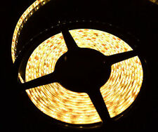 5m 3528 SMD 300 LED 12V DC White Reel  Strip Lights  Waterproof  Tape Roll J102