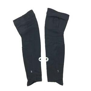 Pactimo Women's Cycling Leg Warmers Black Size XL NWOT