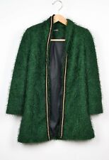 Cardigan Made in Italy, verde scuro, taglia S
