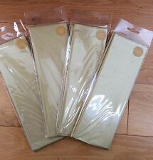 20 Sheets (4 Packs of 5) Metallic Gold Luxury Tissue Paper Wrapping 50x66cm BNIP