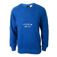New Blue Men's Reebok SSG FLC long sleeve Crew neck,sweatshirt,jumper,top,cotton
