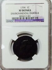 1794 Large Cent - NGC XF Details - Nice Coin - SCARCE
