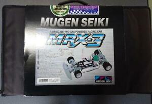 MUGEN SEIKI MRX-3 1/8th SCALE 4WD GAS POWERED RACING CAR