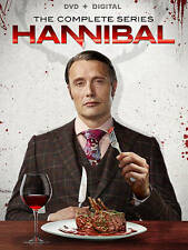 Hannibal: The Complete Series Collection Season 1-3 Digital (12 discs) New