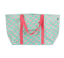 Large Flamingo Foldable Shopping Bag Shopper Shoulder Tote Beach Bag