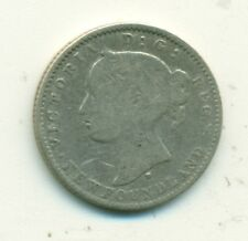 Newfoundland 10 cents 1872H AVG