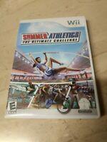 Summer Athletics The Ultimate Challenge Nintendo Wii