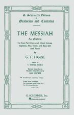 Handel Messiah Oratorio 1741 Vocal Score SATB Choral Piano Sheet Music Book