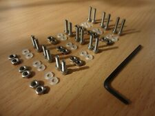 More details for screws, nuts, washers, alan key stainless steel cartridge headshell mounting kit