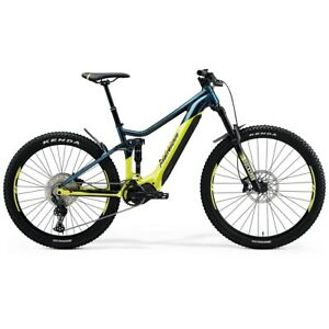 Eone-Sixty 500 29/27.5 6 5/16in 11s 630Wh Shimano EP8 Yellow/Blue 2021 Lit 47