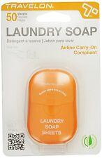 Travelon Laundry Soap Sheets, 50-Count 02096-200
