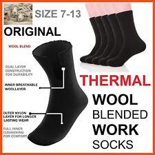 6x Heavy Duty Thick Mens Sizes Cotton Tradie Cushion Work Socks Winter Sock 6-11