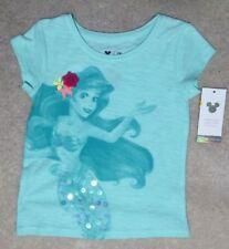 Disney Jumping Beans Girls Ariel Green Shirt -  Size 2T - NEW
