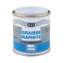 GRAISSE GRAPHITEE SPECIAL HAUTE TEMPERATURE 160°C GRAPHITE GEB