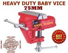 HEAVY DUTY HAND BABY VICE 75MM