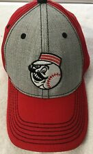 Ohio Fox Sports Buckeyes Adjustable Embroidered Ball Cap Red Hat Pre Owned B