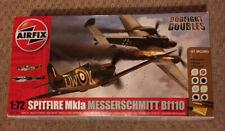 1/72 Airfix Dogfight Doubles Spitfire Mk1a and Messerschmit BF110
