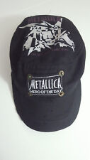 "METALLICA ""HERO OF THE DAY"" RARE CAP / HETFIELD - ULRICH - HAMMETT - TRUJILLO"