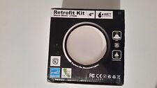 "recessed light retrofit kit for 4"" 12 watt dimmable"