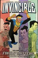 Invincible (Kirkman) Vol. 1 Family Matters TPB Image Comics