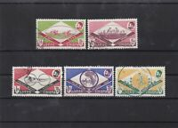 ethiopia 1962 sports  used  stamps Ref 8153