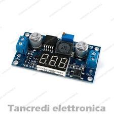 CONVERTITORE DC / DC REGOLATORE DI TENSIONE LM2596S CON VOLTOMETRO LCD 2A 15W