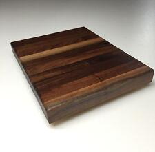 """12"""" x 8"""" x 1.5"""" Walnut Wood Butcher Block Cutting Board"""